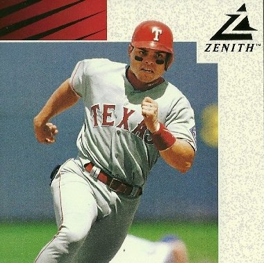 1998 Ivan Rodriguez 5x7 Dare To Tear Card