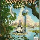 Super Bowl XXXL Program New Orleans Green Bay Packers New England Patriots 1997