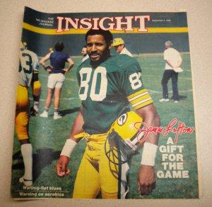 Insight Newpaper Insert JAMES LOFTON Green Bay Packers 1983