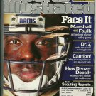 Sports Illustrated 9-3-2001 Marshall Faulk NFL Preview Issue