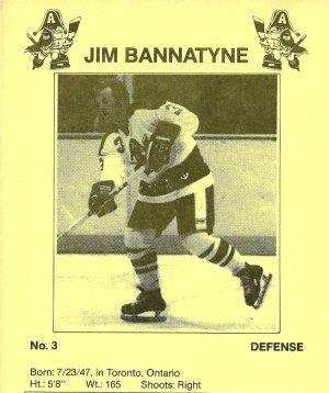 Milwaukee Admirals JIM BANNATYNE Pabst Blue Ribbon Beer