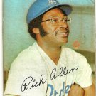 Rich Allen Los Angeles Dodgers 1971 Topps Super Baseball Card