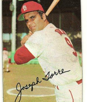 Joseph JOE Torre Saint Louis Cardinals 1971 Topps Super Baseball Card