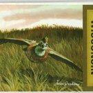 1969 Foldout Map of Wisconsin Partridge NICE
