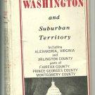 196? Foldout Highway Map of Washington D.C.