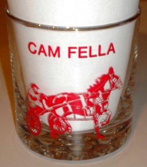 Cam Fella Balmoral Park 1984 Horse of the Year 1982 - 1983 Rocks Glass Racing