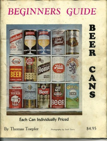 Beer Can Collecting Beginners Guide November 1975