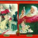 1999 Coca-Cola Collectible Santa Playing Cards in a Tin (2 Decks)