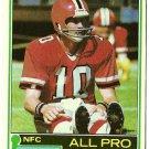 1981 Topps Football Card #390 STEVE BARTKOWSKI Atlanta Falcons