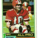 1981 Topps Football Card #390 STEVE BARTKOWSKI Atlanta Falcons