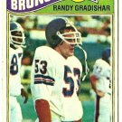 1977 Topps Football Card #390 RANDY GRADISHAR Denver Broncos