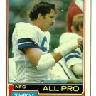 1981 Topps Football Card #470 RANDY WHITE Dallas Cowboys
