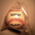 SGA Milwaukee Brewers Rawlings baseball NEW IN BAGGIE 1997 Opening Day