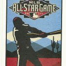2011 MLB All Star Game Ballot Baseball Card Major League Baseball
