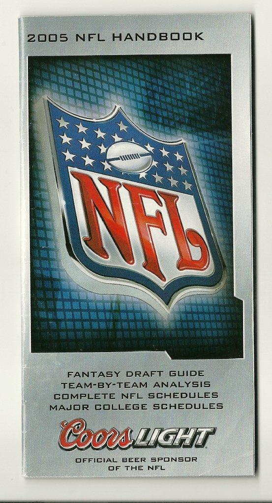 2005 NFL Handbook Fantasy Graft Guide