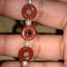 """""""Goldstone"""" Handmade Bracelet"""