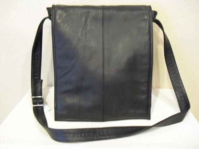 Black European style messenger Bag