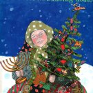 The Trees of the Dancing Goats; Patricia Polacco (K-5; FIRST EDITION; HANUKKAH/CHRISTMAS 1996)