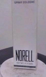 Vtg Norell Spray Cologne Cellophane Sealed Box 2.5 oz- FREE SHIPPING