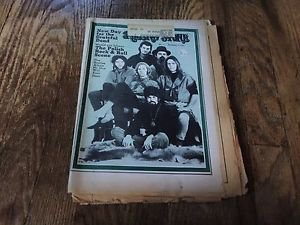 Grateful Dead Jerry Garcia Rolling Stone Magazine ISSUE 66