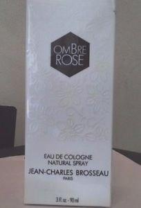 Jean Charles Brosseau Ombre Rose Eau De Cologne Spray 3 oz New Boxed