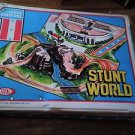 VINTAGE EVEL KNIEVEL STUNT WORLD PLAYSET IDEAL TOYS 1975-WITH VEHICLES-RARE