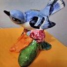 Vintage STANGL Pottery Cerulean Warbler #3456 with Original Stangl Pottery Label