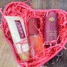 AVON IMARI PERFUME Love Struck Gift Set in  Red Heart-Shaped Basket  IMARI 1992