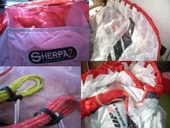UP Sherpa 2 Tandem glider, USD 2650.00, free shipping inside U.S. and no sales tax outside Hawaii