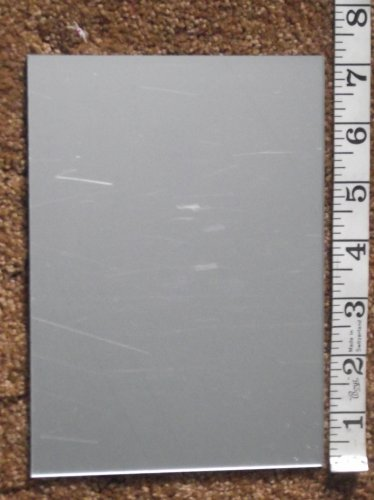 4 pieces of 5 inch by 7 inch mirror for etching