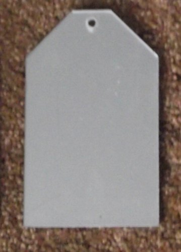 10 pieces Tag shaped mirrors for etching