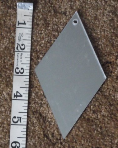 10 Diamond shaped mirrors for etching