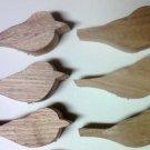 6 Butternut wood -  Bird Blanks