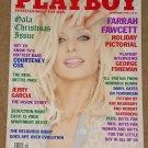 Playboy Magazine - December 1995 Farrah Fawcett, George Foreman, Jerry Garcia, Courtney Cox