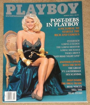 Playboy Magazine - March 1992 Lorne Michaels, Forest Whitaker, drugs, sex scandal