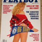 Playboy Magazine - April 1992 Girls of the Big 8, Charles Keating, Palm Beach school violence