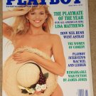 Playboy Magazine - June 1991 Lisa Mathews, Neil Bush, Macneil & Lehrer, Women Comedians