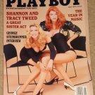 Playboy Magazine - May 1991 Shannon & Tracy Tweed, music, George Steinbrenner, Whitney Houston