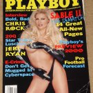 Playboy Magazine - September 1999 Sable, Chris Rock, Star Trek Jeri Ryan, NFL football