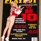 Playboy Magazine - October 1997 Girls of the Big 10, Tommy Hilfiger, Tea Leoni, college bars
