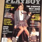 Playboy Magazine - March 1996 Tracy Hampton, Dick Vitale, Strippers, John Travolta