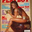 Playboy Magazine - May 2002 (B) Kianna Tom, Bill O'Reilly, panties, MTV, Milla Jovovich, baseball