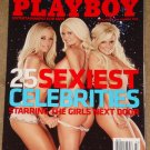 Playboy Magazine - March 2008 25 sexiest celebrities, Charles Barkley, Ice T, Hef