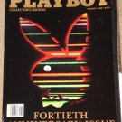 Playboy Magazine - January 1994 40th anniversary issue David Letterman Shaquille O'Neal, Jazz, rock