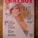 Playboy Magazine - June 1986 Linda Evans, Kathy Shower, Kareem Abdul-Jabbar, AIDS, Robin Leach