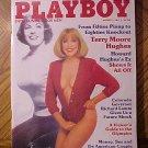 Playboy Magazine - August 1984 Terry Moore Hughes, Richard Lamm, Bobby Knight, Kurt Russell