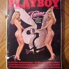 Playboy Magazine - March 1981 James garner, twins, prison riots, playing pool (billiards)