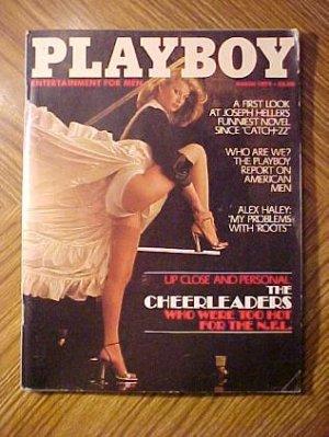 Playboy Magazine - March 1979 Denise crosby, nude Cheerleaders, Ted Patrick, mario Andretti