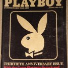 Playboy Magazine - January 1984 30th anniversary, last nudes of Marilyn Monroe, Star 80
