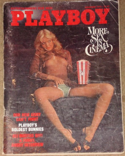 Playboys sex in the cinema